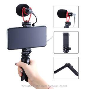 Ulanzi Record Vlog Tripod Microphone Video Kit Tripod Mount Flexible 3.5MM Jack