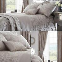 Grey Duvet Covers Damask Textured Jacquard Quilt Cover Luxury Bedding Sets