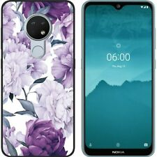 For Nokia 2.4 3.4 5.4 1.3 2.3 5.3 8.3 Soft Silicone Black Painted TPU Case Cover