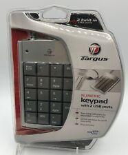 Targus Numeric Keypad PAUK10U with 2 USB ports Tax prep preparation accountant
