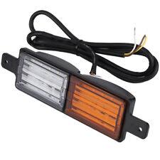 Set of 2 Front Indicator Park LED Bull Bar Light Sealed Bullbar Lights Pair 3 B4