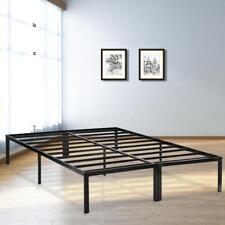 Bed Frame Metal  Platform Bed Frame Base Mattress Foundation Frame 14 Inch Queen