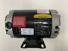 BALDOR .33/.25HP ELECTRIC MOTOR 115/230V 56YZ:FR 50/60HZ SPEC: 34M302X655G1 NEW