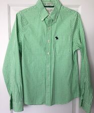 Abercrombie and Fitch - Checked long sleeve button down shirt - S - muscle shirt