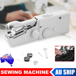 Mini Hand Held Cordless Sewing Machine Kit Portable Home Handheld Clothes Stitch