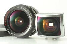 """Raro """"Menta con buscador"""" Voigtlander Ultra Wide Heliar 12mm F5.6 Asférica Leica L"""