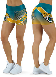 Jacksonville Jaguars Small to 2XL Women's Shorts