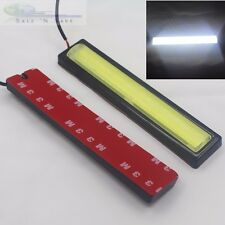 NEW COB Universal Stick-On Daytime Running Light DRL with Waterproof Cover