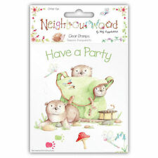 CLEARANCE Neighbourwood Otter Fun Clear Stamps by Helz Cuppleditch / Sellos