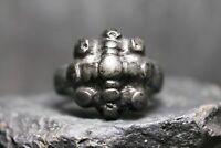 Ancienne bague en bronze viking, 9ème-12ème siècle après JC, Kiev Rus,...