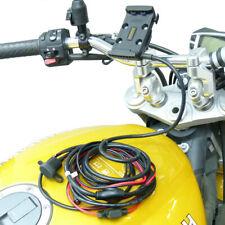 Drahtgebunden Betrieben Dock Halter M8 Motorrad Halterung Für Garmin Zumo 590