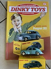 "DINKY TOYS PEUGEOT 203 SCALA 1/43 - DE AGOSTINI 37 ""E"""