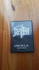 """Death """"Live in L.A. DVD Death & Raw,Cynic,Athiest,Pestilence"""