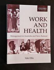 Niki Ellis - Work & Health Management In Australia & New Zealand - pb
