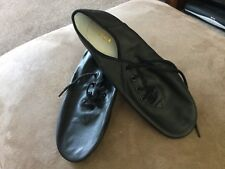 Bloch Black Split Sole Jazz Shoes SO405G Size 9 Brand New