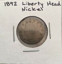 Liberty Head Nickel  1892 AG About Good
