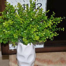 7-branches artificielles fausses fleurs en plastique plante eucalyptu he