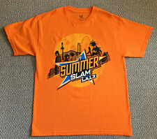 NEW! 2013 WWE SUMMERSLAM Los Angeles I WAS THERE T-Shirt Size L CENA vs. BRYAN