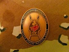 COMBINED JOINT TASK FORCE, 9TH MARINE PROVISIONAL SECURITY FORCE CHALLENGE COIN