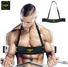 Bicep Isolator Gym Bar Curl Blaster Arm Training Weight Lifting