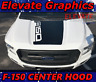 For Ford F-150 Center Hood Stripes 3M Graphics Vinyl Decals Truck Stickers 15-20