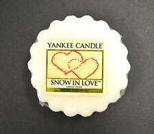 Yankee Candle tarte 22g ORIGINAL NEIGE in love Noël Arôme Bougie Huile Dégèle