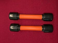 New listing 6 Second Abs Exercise Machine Original Orange Bands Set of 2 excellent condition