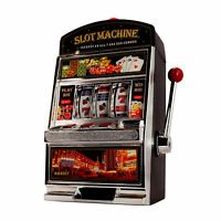 Machine à sous XXL - bandit manchot, Jeux de hasard comme au casino, Tirelire