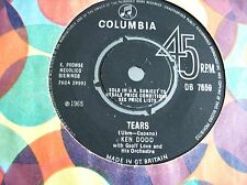 Ken Dodd,Tears/You And I (Columbia 1965)