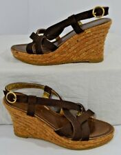 Costa Blanca Platform Buckle Strap Sandals CUTE Shoes MADE in SPAIN Womens 7.5