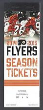 2014-2015 NHL PHILADELPHIA FLYERS SEASON FULL UNUSED TICKETS LOT - 44 TIX