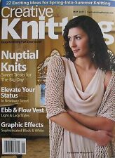 NUPTIAL KNITS May 2011 CREATIVE KNITTING 27 EXCITING IDEAS FOR SPRING/SUMMER