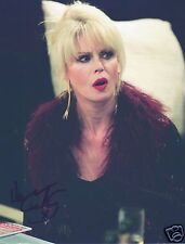 Joanna Lumley Autograph Signed PP Photo Poster