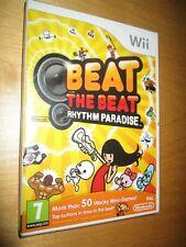 NEW & SEALED Beat the Beat Rhythm Paradise ** Nintendo Wii / Wii ** UK PAL