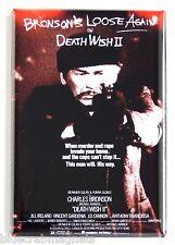 Death Wish 2 Fridge Magnet (2.5 x 3.5 inches) movie poster charles bronson