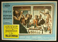 CINEMA-fotobusta TOTò PEPPINO E LA MALAFEMMINA reno, gray, MASTROCINQUE