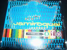 Jamiroquai Too Young Too Die 4 Track Australian CD Single - Like New