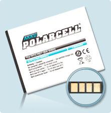 PolarCell Akku für HTC Wildfire S A510e Explorer A310e BD29100 Batterie Accu