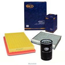Inspektionskit Ölfilter Luftfilter Innenraumfilter f. Ford FOCUS C-MAX