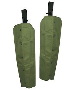 GREEN HEAVYWEIGHT THORNPROOF TOUGH WATERPROOF SHOOTING HUNTING LEGGINGS  CHAPS