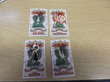 2011 TOPPS ALLEN & GINTER #SRU9 KNIFE THROWING STEP RIGHT UP  MINI INSERT