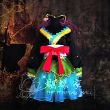 Vocaloid 2 Miku PROJECT DIVA Cosplay Kostüm Abend-Kleid dress lolita