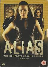 ALIAS - Series 2. Jennifer Garner, Ron Rifkin, Bradley Cooper (6xDVD BOX SET'04)