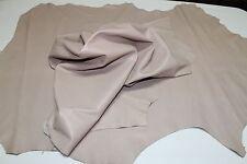 BEIGE Italian Lambskin leather hide skin hides skins 6sqf