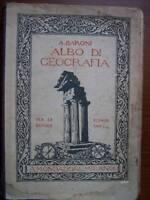 A.BARONI ALBO DI GEOGRAFIA PER LE SCUOLE ELEMENTARI MONDADORI 1929 ( A27 )