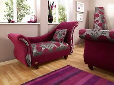 Bespoke UK Handmade French Style Single High Arm Chaise Lounge- Design Your Own