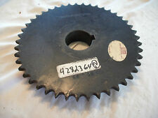 "50BS45 sprocket  for  Roller Chain 1-15/16""  Bore keyed #50 chain 45 tooth 50b45"