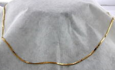 14K YELLOW GOLD SERPENTINE STYLE NECKLACE
