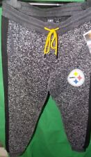 PITTSBURGH STEELER SWEAT PANTS    NFL TEAM APPAREL MED  NEW WITH TAGS