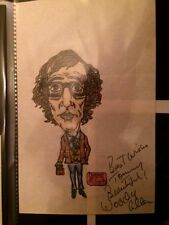 WOODY ALLEN Signed / Autographed Picture / Drawing 1970's